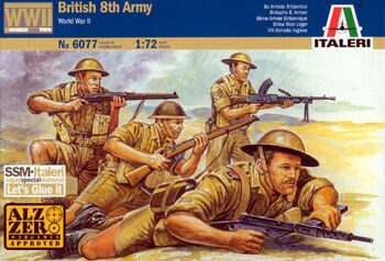 6077 British 8th Army