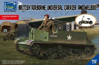 RV35034 1/35 British Airborne Universal Carrier and Welbike