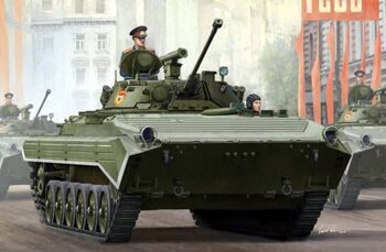 05584 Russian BMP-2 infantry fighting vehicles