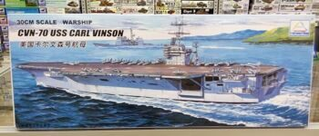 "80905 1/700 US aircraft carrier ""Carl Vinson"""