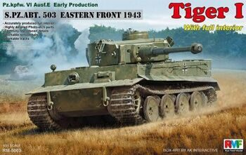 RM-5003 1/35 Pz.kpfw.VI Ausf. E Early Production Tiger I S.PZ.ABT. 503 EASTERN FRONT 1943 W/Full Int
