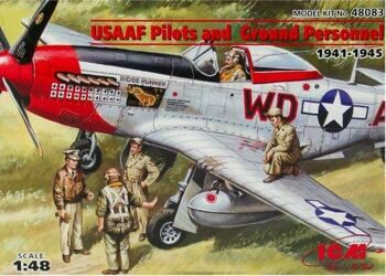 48083 USAAF Pilots and Ground Personnel 1941-45