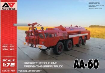 AA-60 aircraft rescue and firefighting (ARFF)