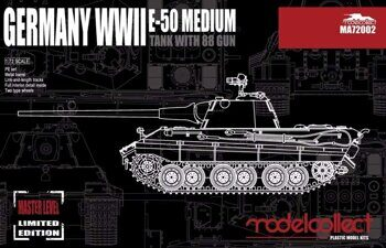 MA72002 Germany WWII E-50 Medium Tank with 88 Gun