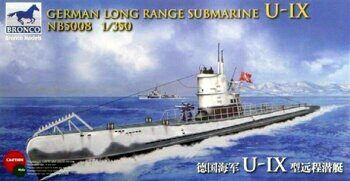 NB5008 1/350 German Long Range Submarine Type U-IX