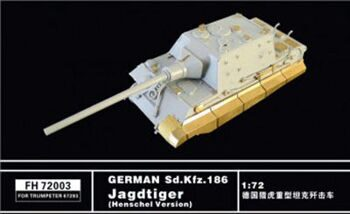 FH72003 German Sd.kfz.186 Jagdtiger (Henschel Version) (For Trumpeter07293)