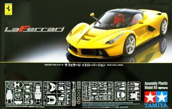 24347 1/24 LaFerrari Yellow Version