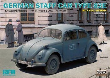 RM-5023 1/35 GERMAN STAFF CAR TYPE 82E