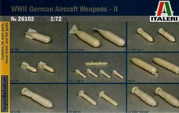 26102 WWII German Aircraft Weapons Set 2