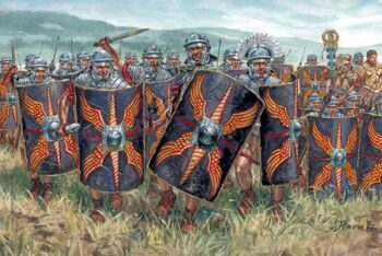 6047 Imperial Roman infantry 1:72
