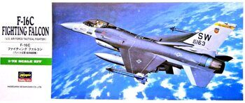 00232  F-16C FIGHTING FALCON  1/72