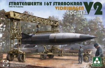 2123 1/35 STRATENWERTH 16t STRABOKRAN 1944/45 PRODUCTION + VIDALWAGEN ROCKET V2