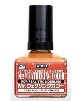 WC08 Mr. Weathering color - Rust Orange 40ml