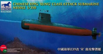 NB5012 Chinese 039 Sung Class Attact Submarine