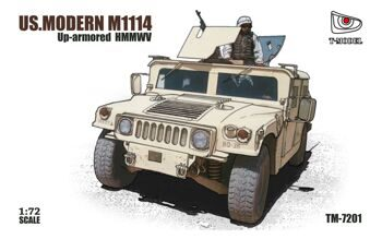 TM72001  1/72 US HMMWV M1114