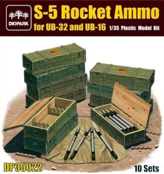 DP35022 1/35 S-5 Rocket Ammo for UB-32 and UB-16