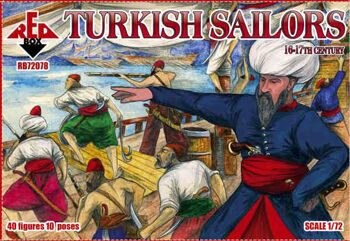 72078  Turkish sailors, 16-17th century