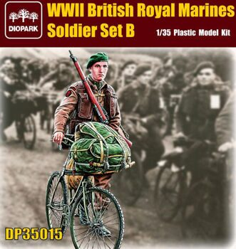 DP35015 1/35 British Royal Marines Soldier Set B