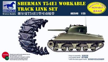 AB3546 Sherman T54E1 Workable Track Link Set