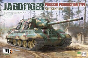 8003 1/35 JAGDTIGER PORSCHE PRODUCTION