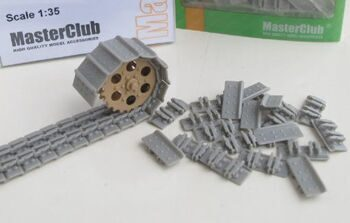 MC135132CL Resin tracks for Mark IV, Mk.II, Mk.V, Mk.IX WWI