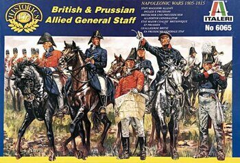 6065 British and Prussian General Staff