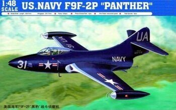 "02833 US. Navy F9F-2P ""PANTHER"""
