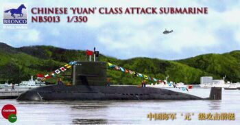 NB5013 Chinese Yuan class attack Submarine