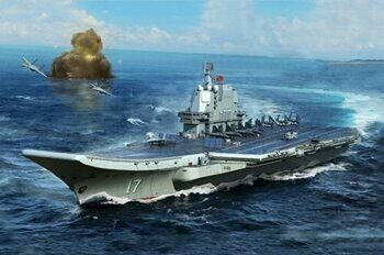 06725 PLA Navy type 002 Aircraft Carrier