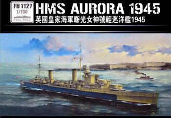 FH1127  1/700 Light Cruiser HMS Aurora 1945