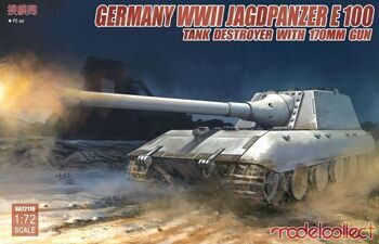 UA72116 German WWII Jagdpanzer E-100 Tank destroyer with 170mm gun