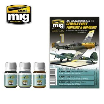 AMIG7414 German Early Fighters Bombers