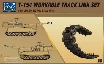 RE30001 1/35 T-154 Workable Track set for M109A6 SPH