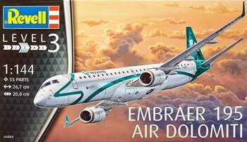 "04884 1/144 Пассажирский самолет Embraer 195 ""AIR DOLOMITI"""