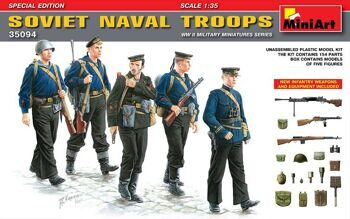 35094  Soviet Naval Troops. Special Edition