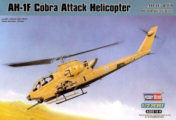 87224 Вертолет: AH-1F Cobra Attack Helicopter  (Hobby Boss) 1/72