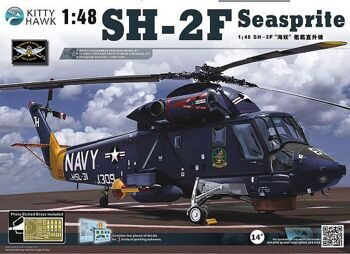 KH 80122 1/48 SH-2F Seasprite Kit First Look