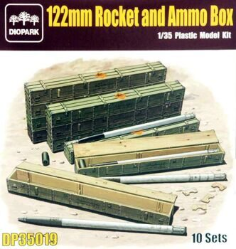 DP35019 1/35 122 Rocket and Ammo Box