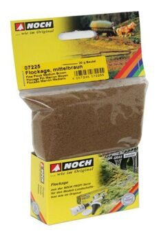 07225 Flock Medium Brown 20 g