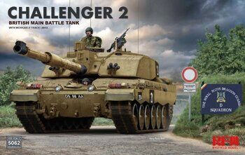 RM-5062 British main battle tank Challenger 2 w/workable track links