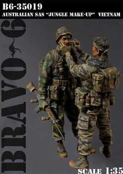 35019 1/35 AUSTRALIAN SAS JUNGLE MAKE UP