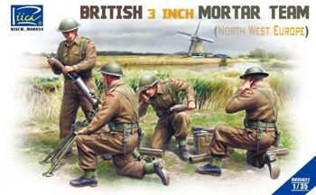 RV35022 British 3 inch Mortar Team set (North West Europe)