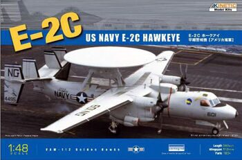 K48013 1/48 US Navy E-2C Hawkeye Airplane
