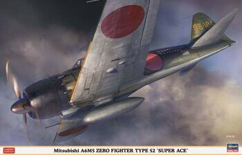 "08245  Mitsubishi A6M5 ZERO FIGHTER TYPE 52 ""SUPER ACE"""
