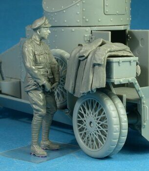 F35-009 British RNAS Armoured Car Division Petty Officer Relief