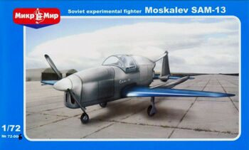 72-006  Moskalev SAM-13 Soviet experimental fighter