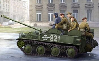 83896 Russian ASU-57 Airborne Tank Destroyer