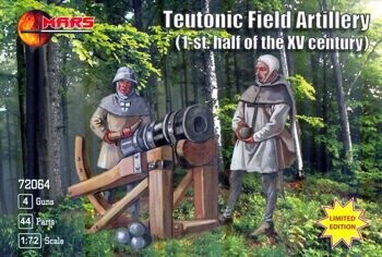 72064  Teutonic field artillery (1-st half of the XV century)