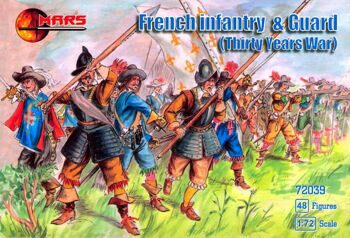 72039  French infantry & guard