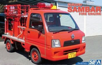 05142 1/24 SUBARU TT2 SAMBAR THE FIRE ENGINE '08